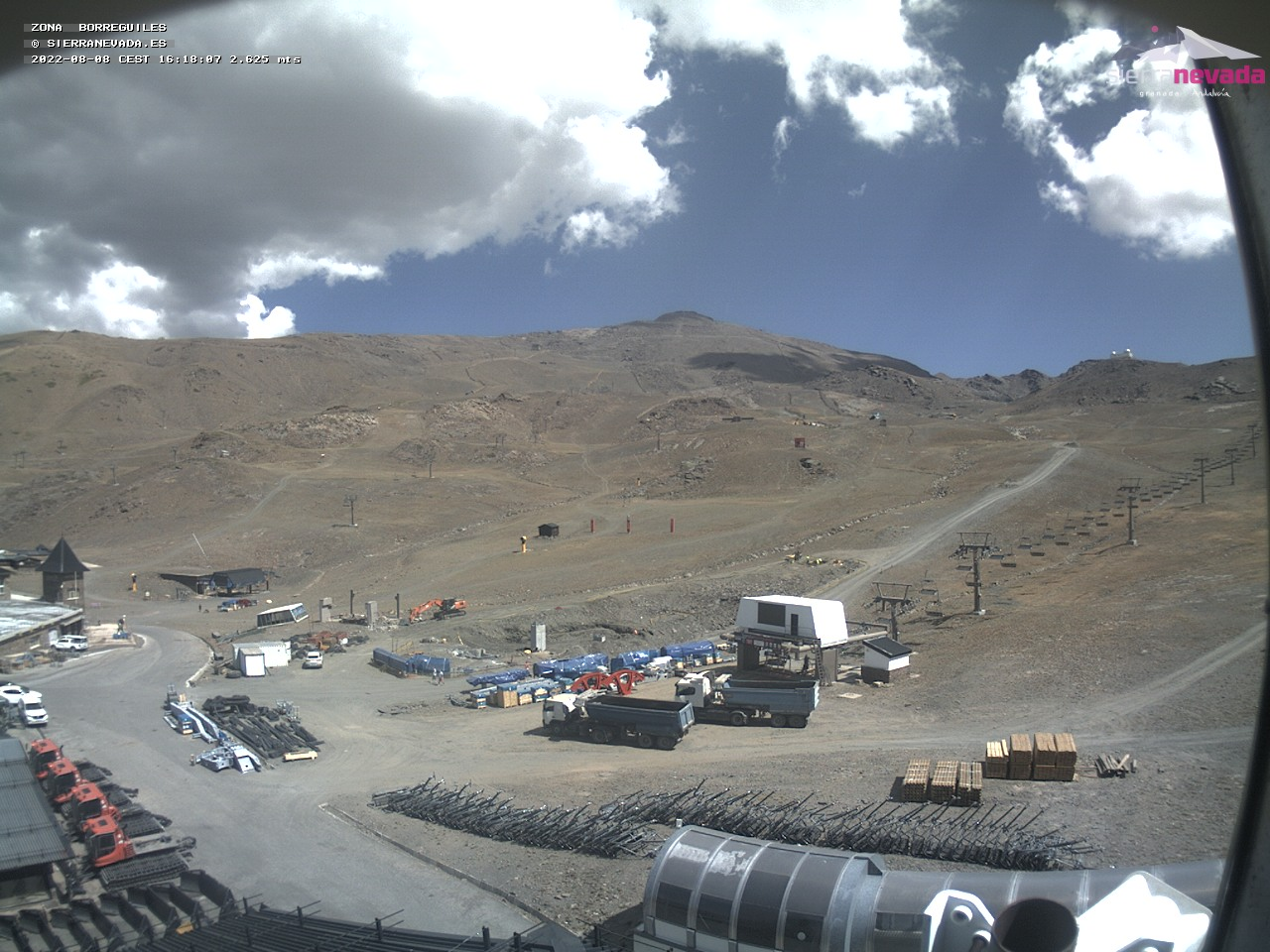 WebCam en Directo Sierra Nevada