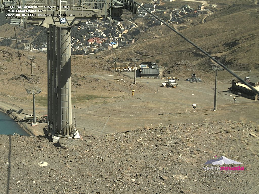 Camera at the top of the Al-Andalus Gondola - 2600m